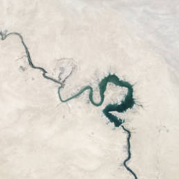 river desert